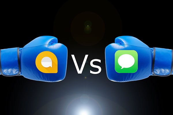 Allo Vs iMessage: Clash of the Titans!