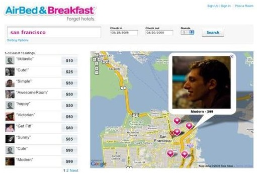 Airbnb used MVP to launch in San Francisco and then to 34,000 more cities